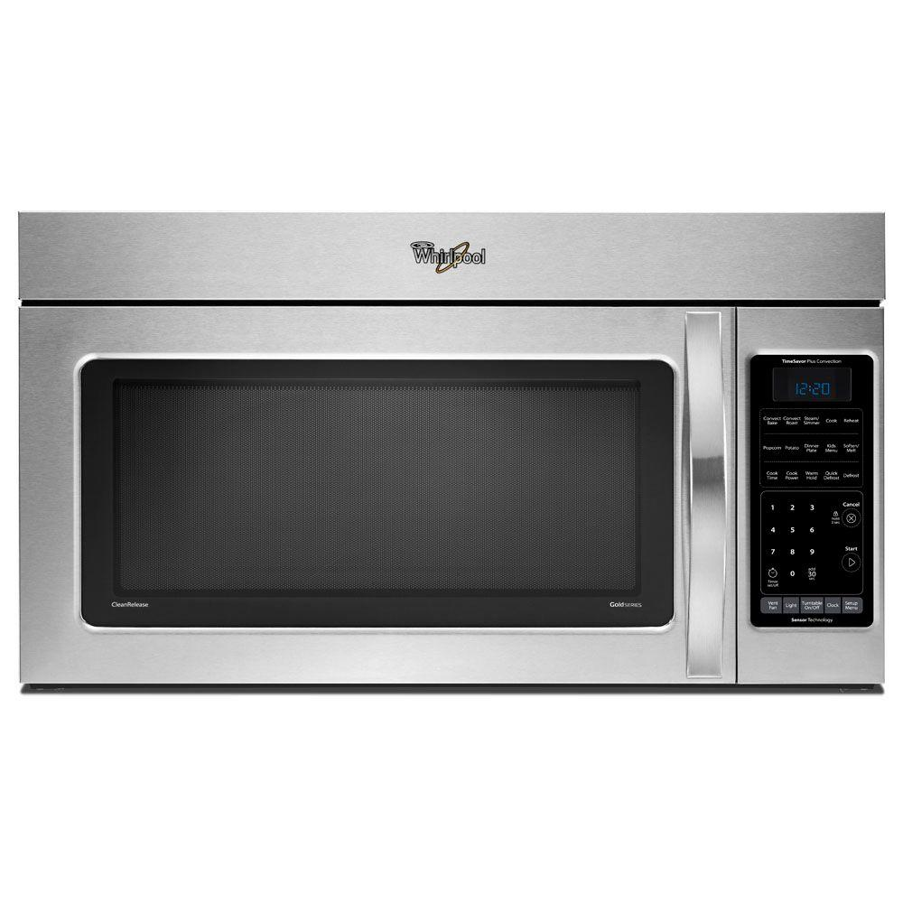 Whirlpool 1.8 cu. ft. Over the Range Convection Microwave in Stainless Steel, with Sensor Cooking-DISCONTINUED