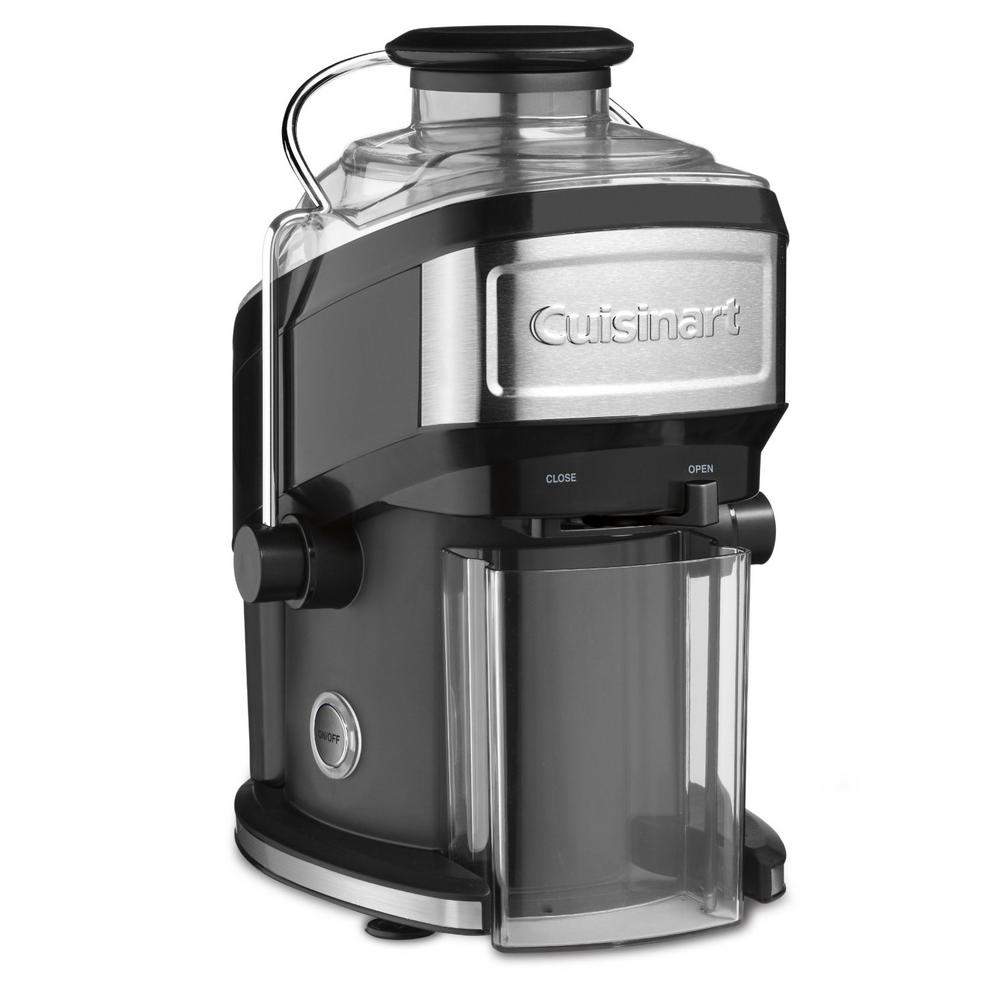 Cuisinart Compact 16 fl. oz. Black Masticating Juicer with Recipe Booklet and Cleaning Brush Cuisinart Compact 16 fl. oz. Black Masticating Juicer with Recipe Booklet and Cleaning Brush