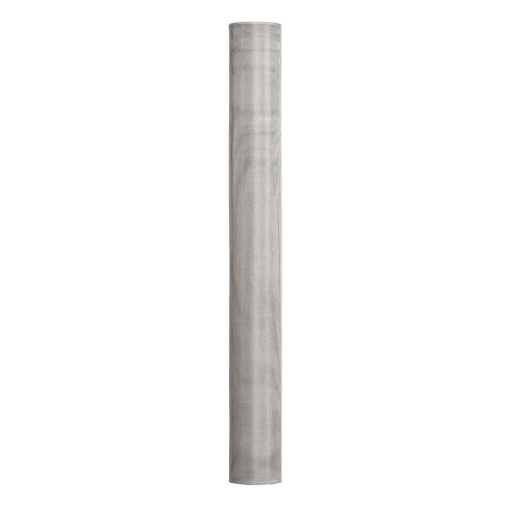48 in. x 1200 in. Bright Aluminum Insect Screen