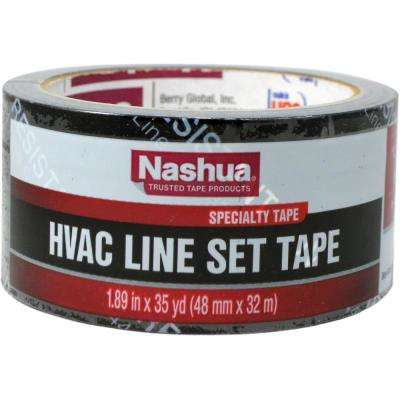 1.89 in. x 35 yd. HVAC Line Set Tape in Black