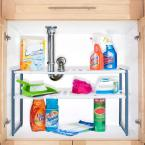 Stalwart 11.325 in. x 17.75 in. x 15.325 in. Plastic Sink and Cabinet Organizer