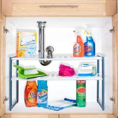 11.325 in. x 17.75 in. x 15.325 in. Plastic Sink and Cabinet Organizer