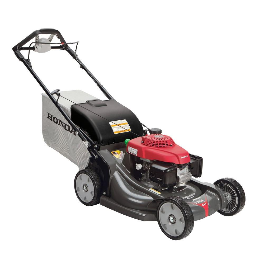 honda 21 in variable speed 4 in 1 gas walk behind self propelled