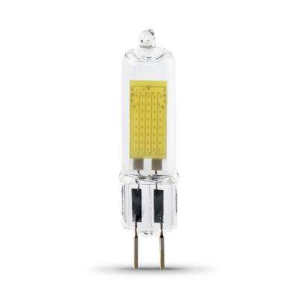 35-Watt Equivalent Bright White (3000K) T4 GY6.35 Bi-Pin Base Decorative LED Light Bulb