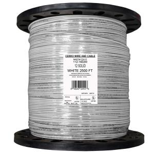 Cerrowire 2500 ft. 14 Red Solid THHN Wire-112-1403M - The Home Depot
