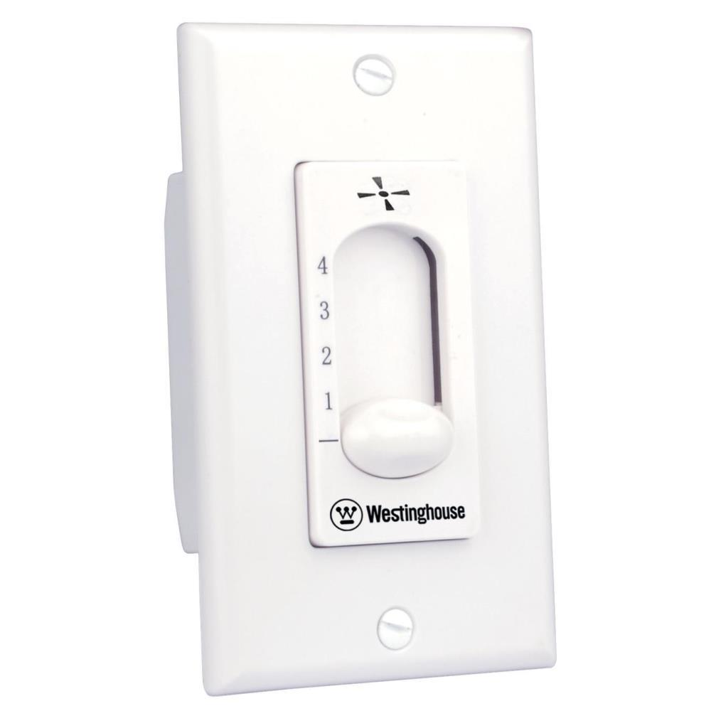 Westinghouse ceiling fan wall control 7787200 the home depot westinghouse ceiling fan wall control mozeypictures Images
