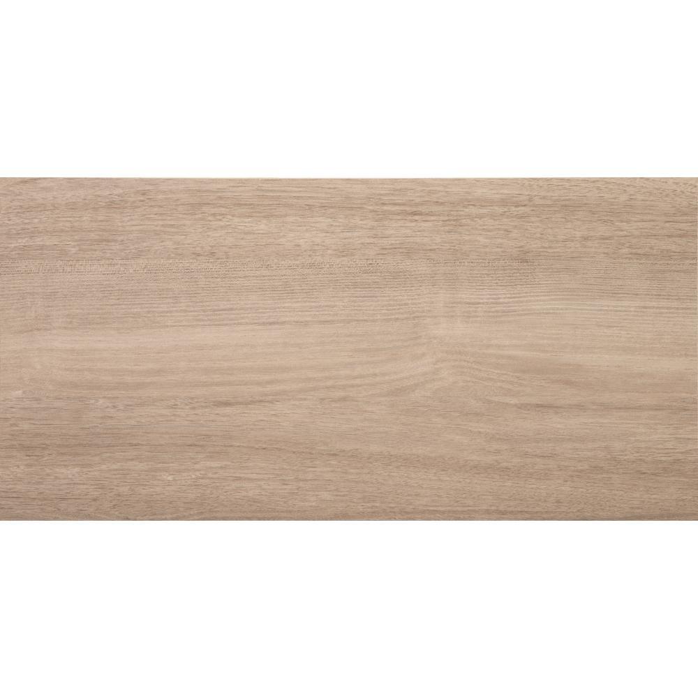 12 in. x 24 in. Organic Ash Laminate Decorative Shelf