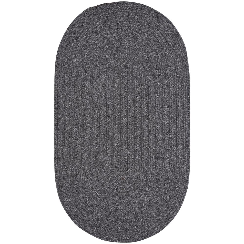 Capel candor grey 3 ft x 5 ft oval area rug for Accent rug vs area rug