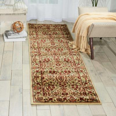Persian Arts Ivory 4 ft. x 6 ft. Area Rug