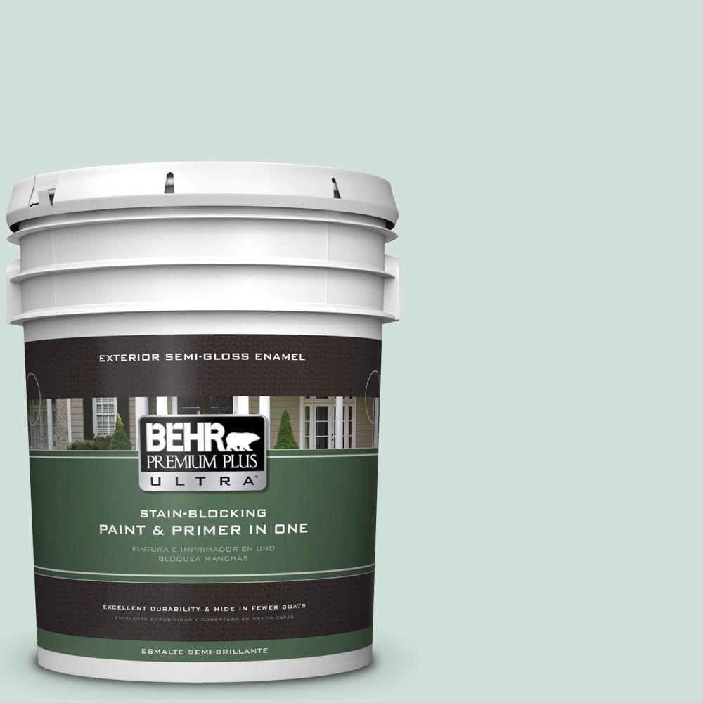 BEHR Premium Plus Ultra 5-gal. #S430-1 Melting Moment Semi-Gloss Enamel Exterior Paint