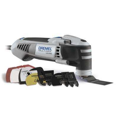 Multi-Max 3.8 Amp Variable Speed Corded Oscillating Multi-Tool Kit with 36 Accessories and Carrying Bag