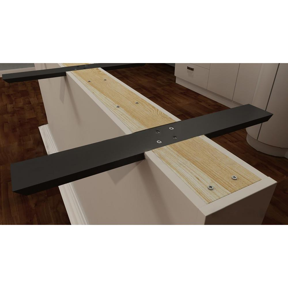 Flat Wall Countertop Support
