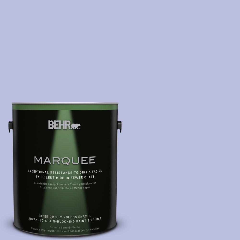 BEHR MARQUEE 1-gal. #MQ4-31 Stardust Evening Semi-Gloss Enamel Exterior Paint