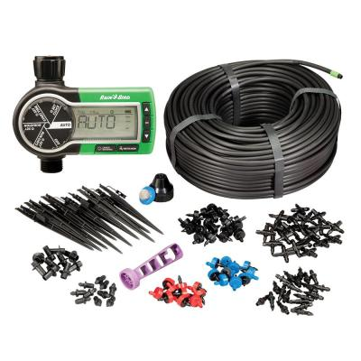 Electronic Hose Timer and Drip System Expansion and Repair Kit Bundle