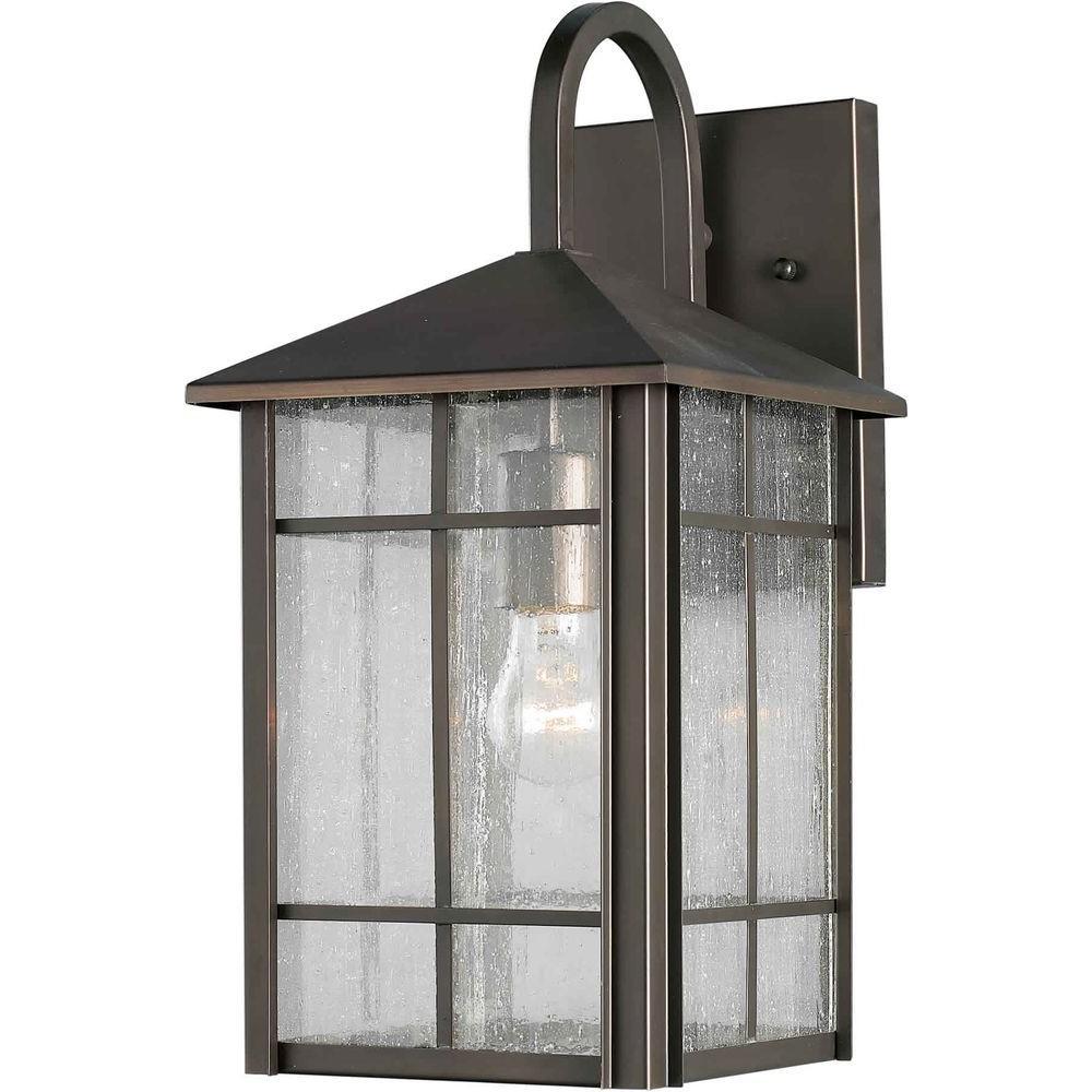 Talista Burton 1-Light Outdoor Royal Bronze Incandescent Wall Lantern