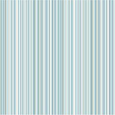 8 in. x 10 in. Martinez Blue Striped Sample