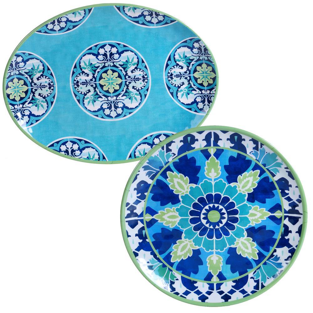 Granada 2-Piece Platter Set