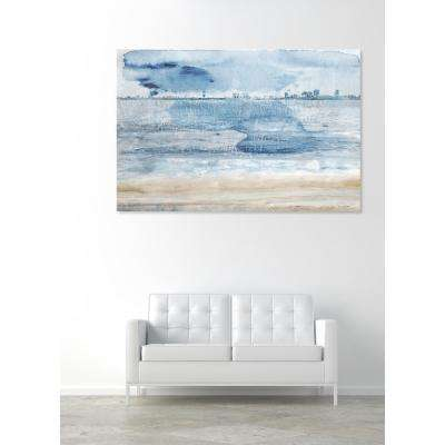 """36 in. x 24 in. 'Miami Bay"""" by """"Oliver Gal"""" Printed Framed Canvas Wall Art"""