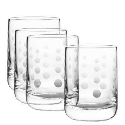 Galaxy 12 oz. Double Old Fashioned Glass (4-Piece Set)
