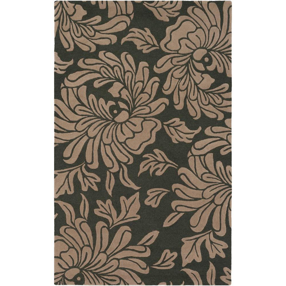 Andrea Charcoal 4 ft. x 6 ft. Area Rug