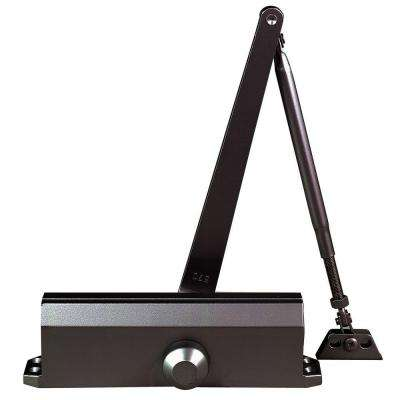 Commercial ADA Slim Line Door Closer with Delayed Action in Duronotic - Sizes 1-4