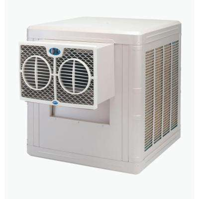 3500 CFM 2-Speed Front Discharge Window Evaporative Cooler for 800 sq. ft. (with Motor)
