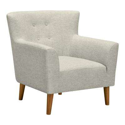 Hyland Beige Fabric Accent Chair