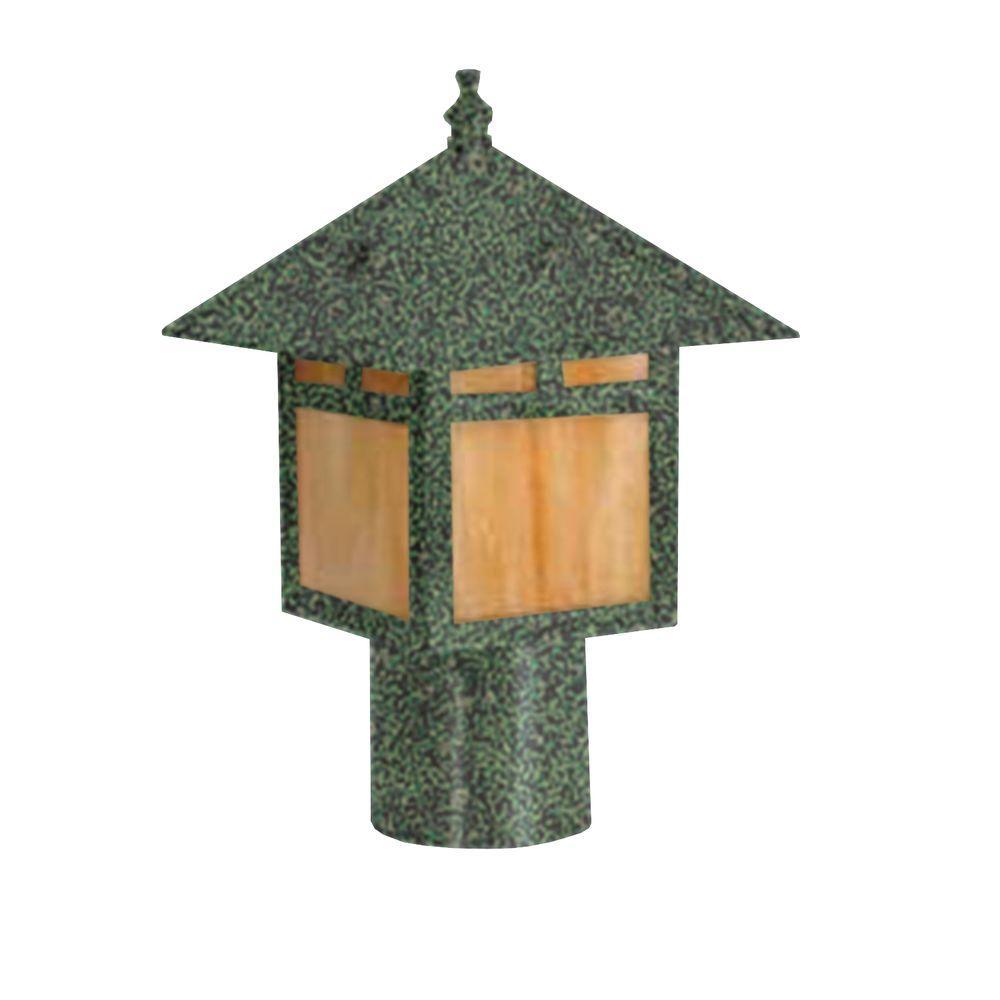 Centennial Outdoor LED Antique Verde Area Light