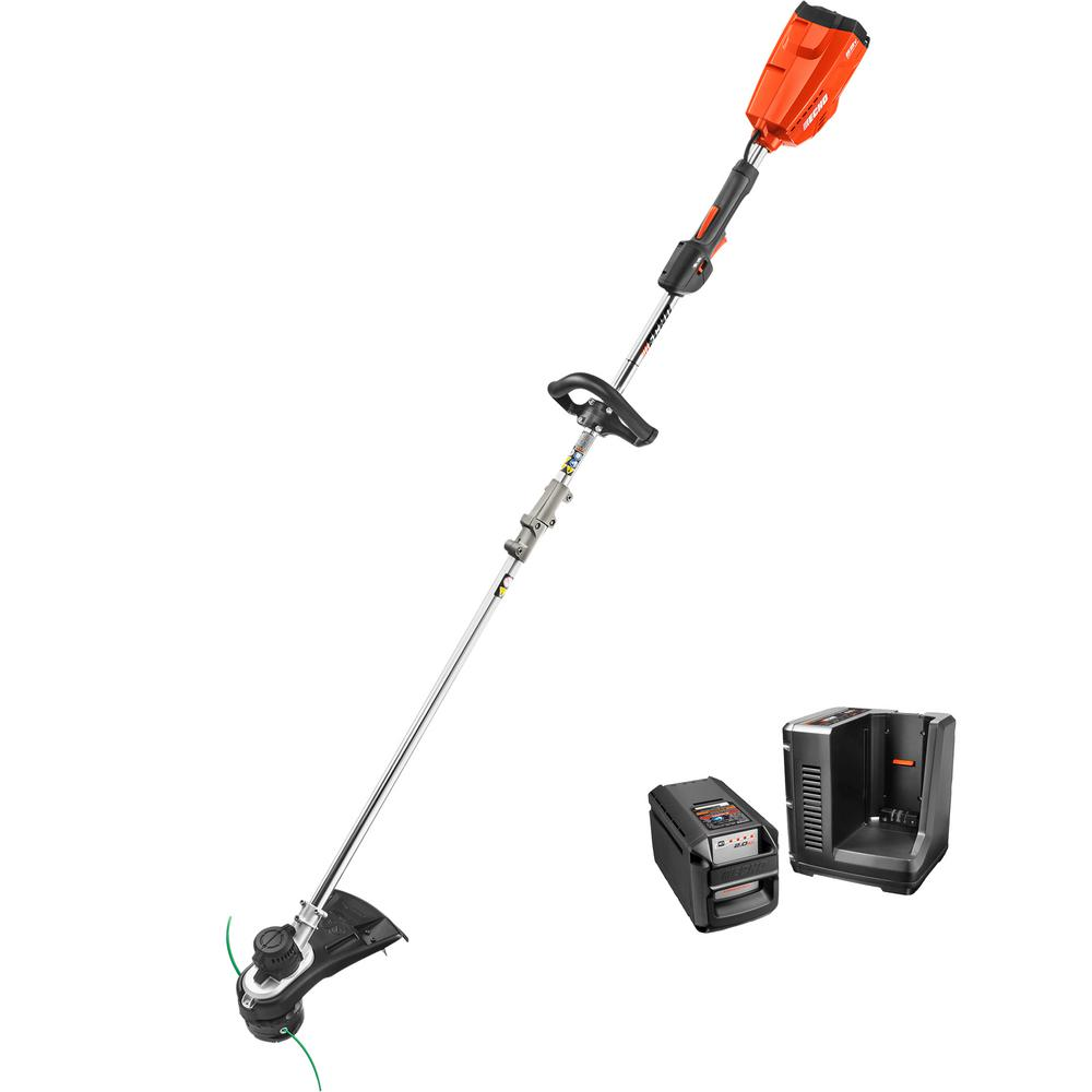 Echo 58 Volt Lithium Ion Brushless Cordless String Trimmer 2 0 Ah Battery And