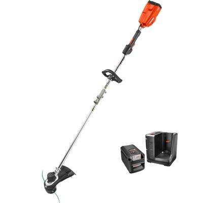 58-Volt Lithium-Ion Brushless Cordless String Trimmer - 2.0 Ah Battery and Charger Included