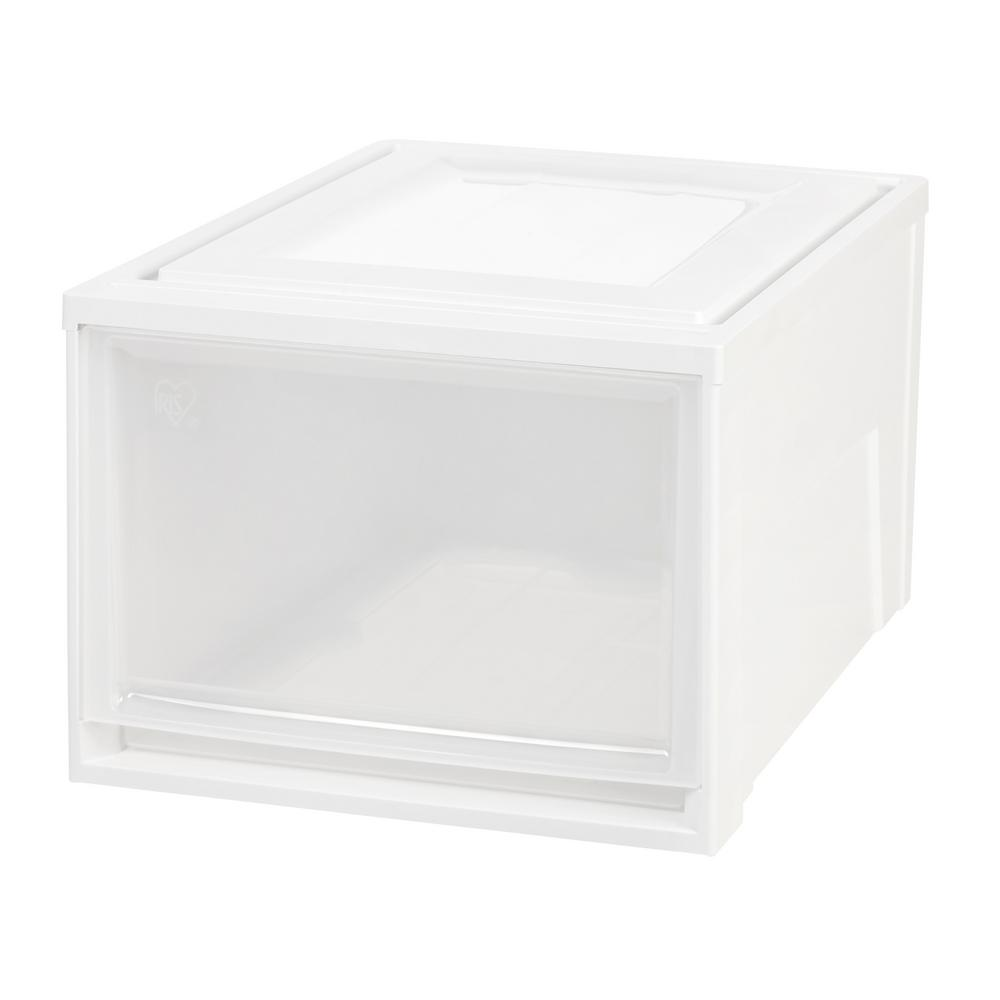 15.75 in. x 11.5 in. White Deep Box Chest Drawer (3-Pack)