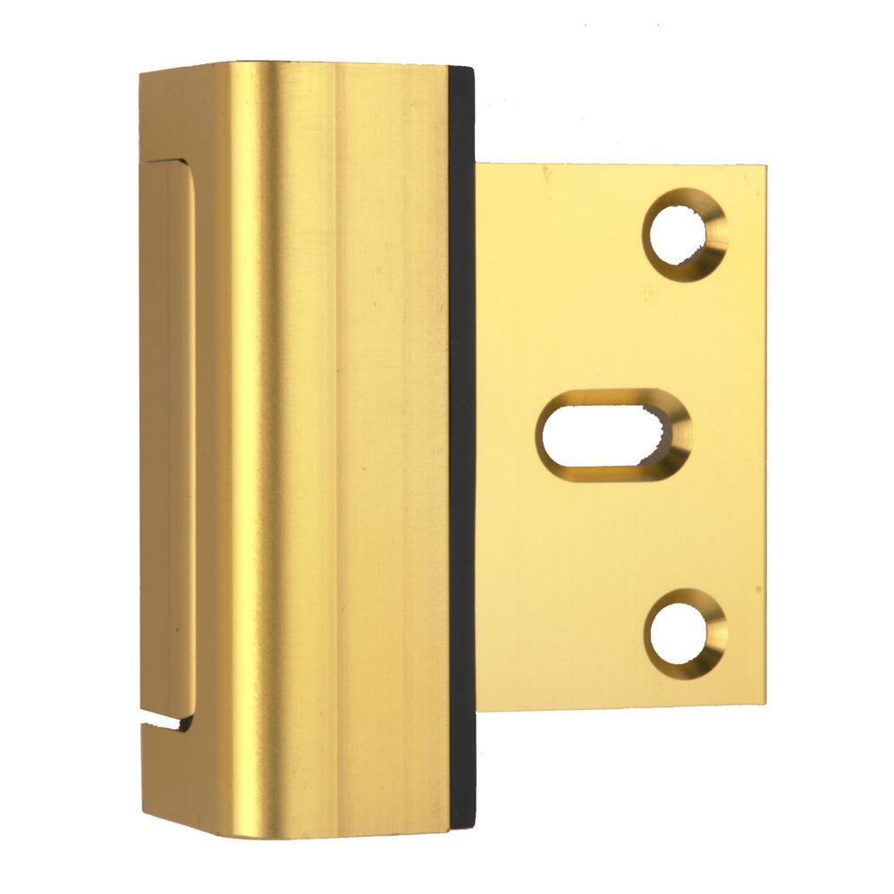 Child Proof Door Guardian in Brass (2-Pack)