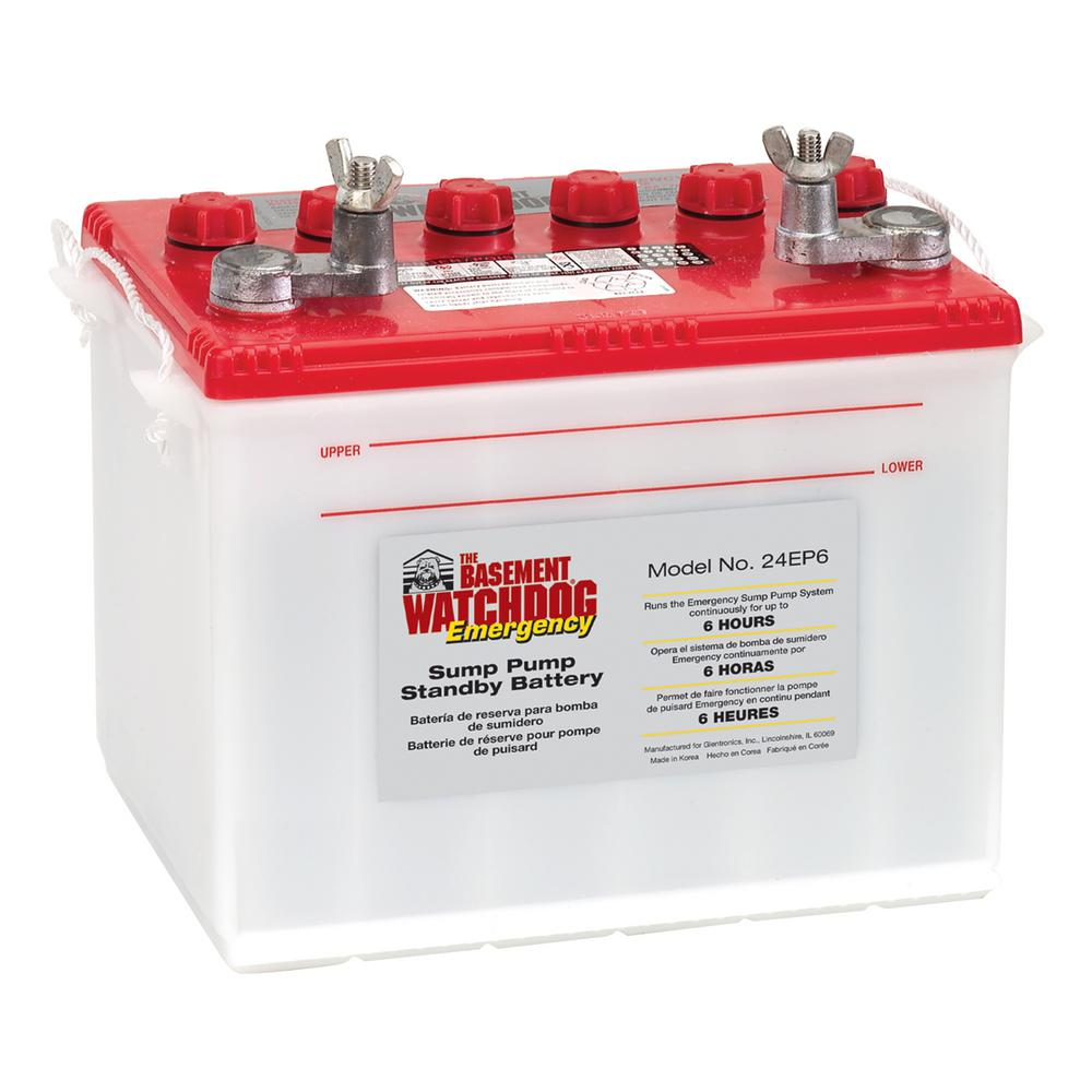 Basement Watchdog Emergency Battery Back Up High Reserve