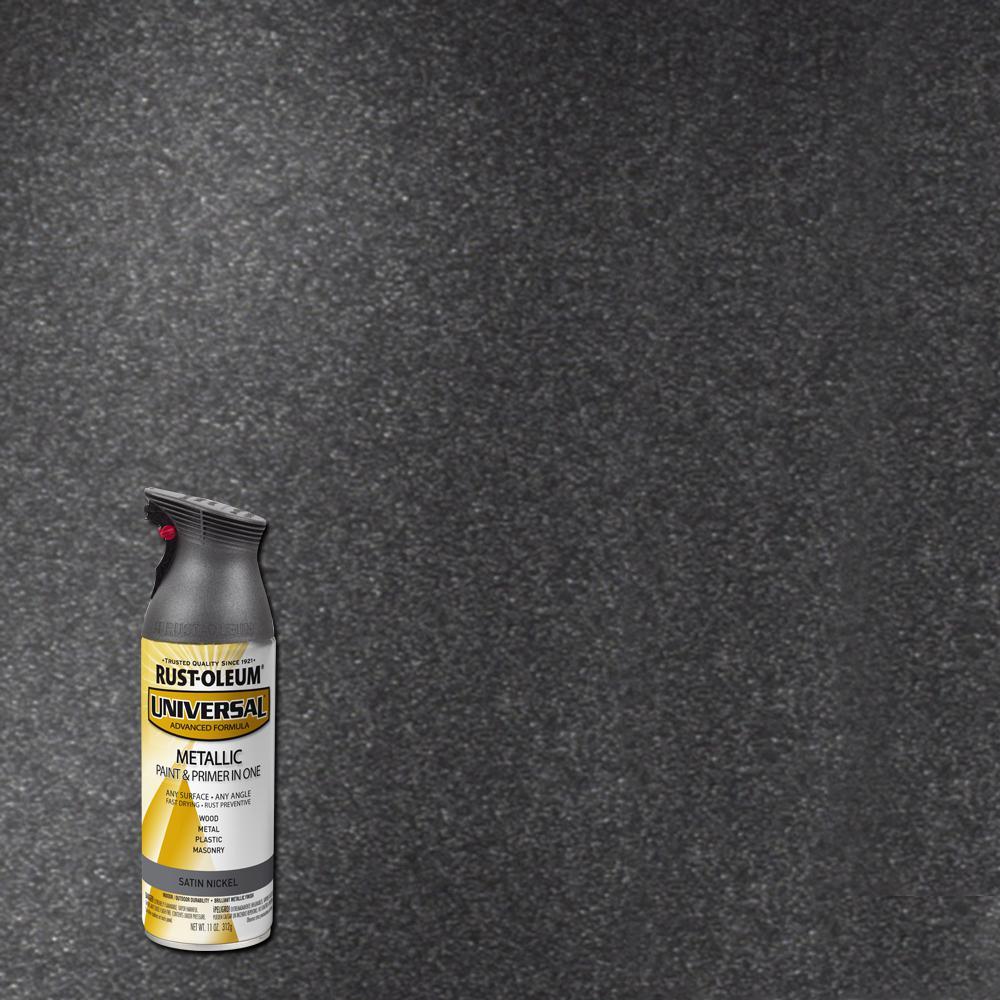 Spray Paint: Rust-Oleum Universal 11 Oz. All Surface Metallic Aged