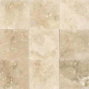 travertine wall tiles kitchen msi ivory 4 in x 4 in honed travertine floor and wall 6363