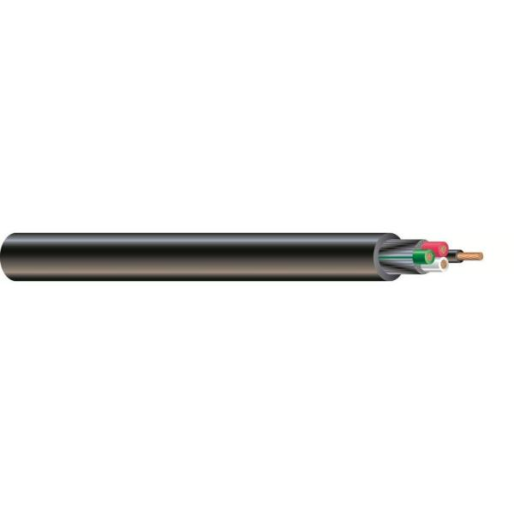 100 ft. 6/4 600-Volt CU Black Flexible Portable Power SOOW Cord