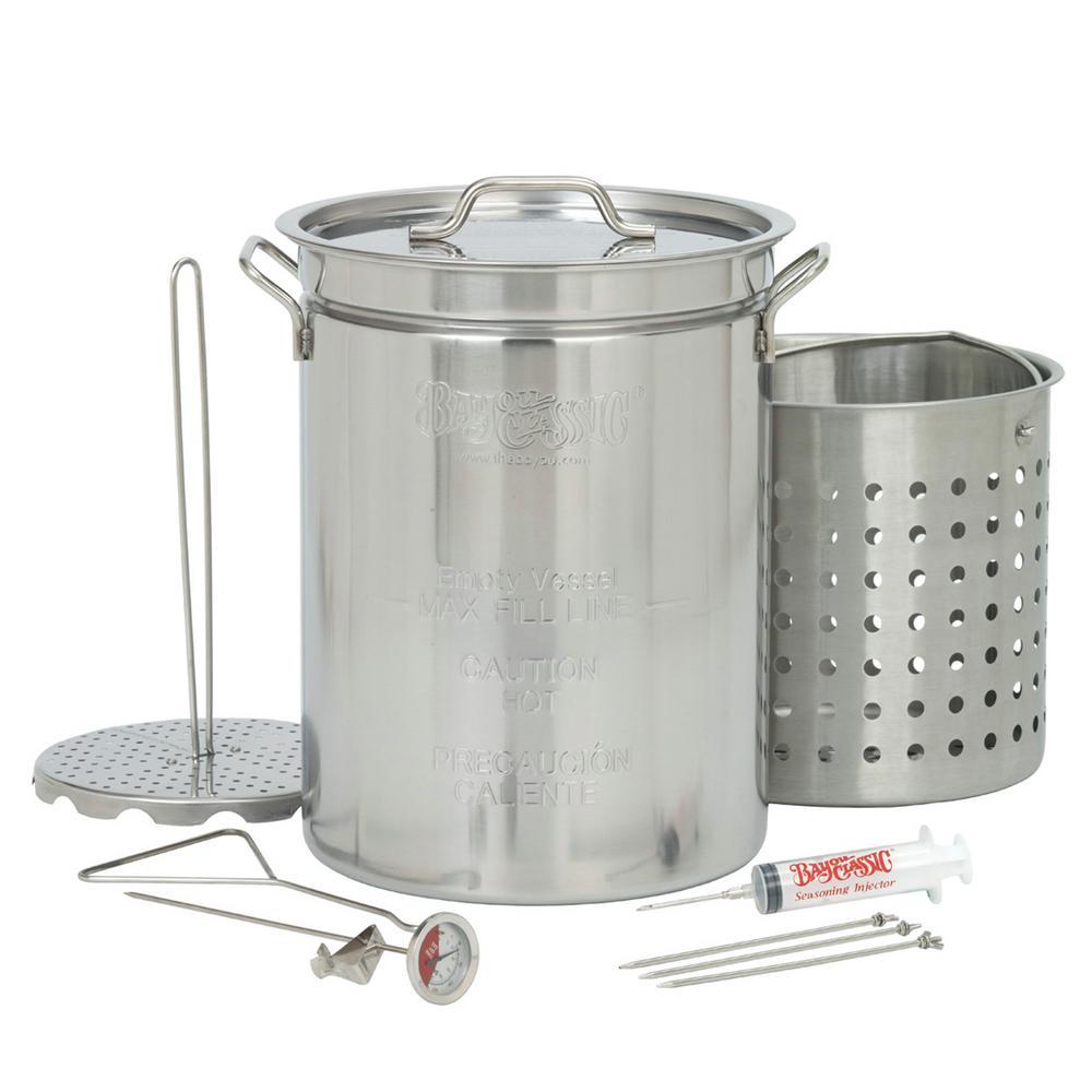 32 qt. Stainless Steel Turkey Fryer Set