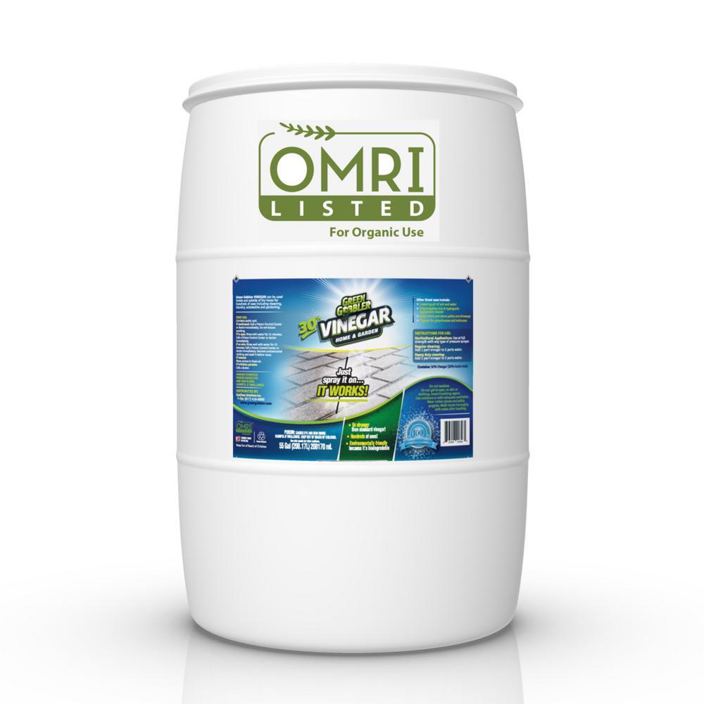 Eco Clean 55 Gal Drum Gg 30 Ultimate Vinegar Gguv30g 55