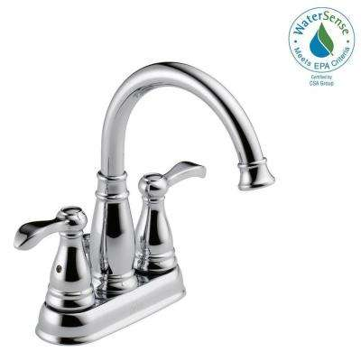 Porter 4 in. Centerset 2-Handle Bathroom Faucet in Chrome