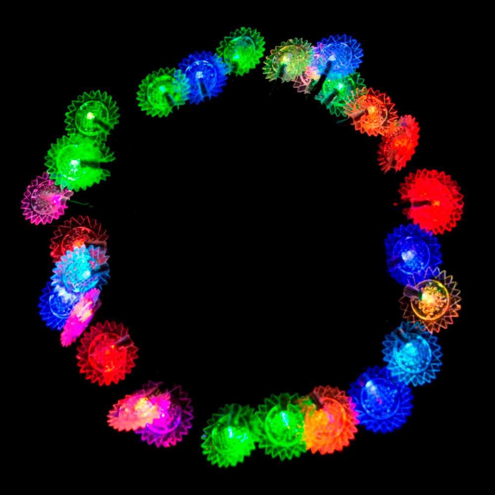 Lightshow 8 Light Multi Color Round Projection String Lights With Create Secondary Colors From Multicolored Leds Edn 30 Led Sunflower