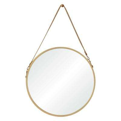 Cupola 38.75 in. x 23.75 in. Framed Wall Mirror