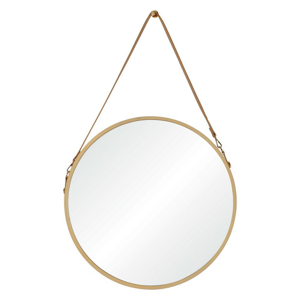 Cupola 38.75 in. x 23.75 in. Framed Wall Mirror