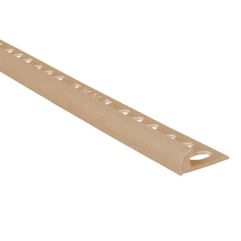 Novocanto Maxi Dun 1/2 in. x 98-1/2 in. Composite Tile Edging Trim
