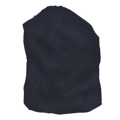 Jumbo Sized Nylon Laundry Bag in Blue