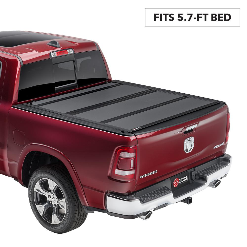 Bak Industries Mx4 Tonneau Cover For 19 New Body Style Ram 5 Ft 7 In Bed Without Rambox 448227 The Home Depot