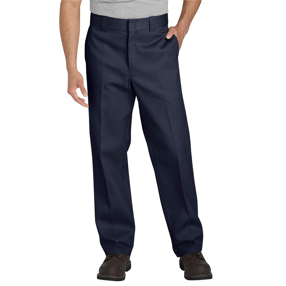 Original 874 Men's 34 in. x 32 in. Dark Navy Work