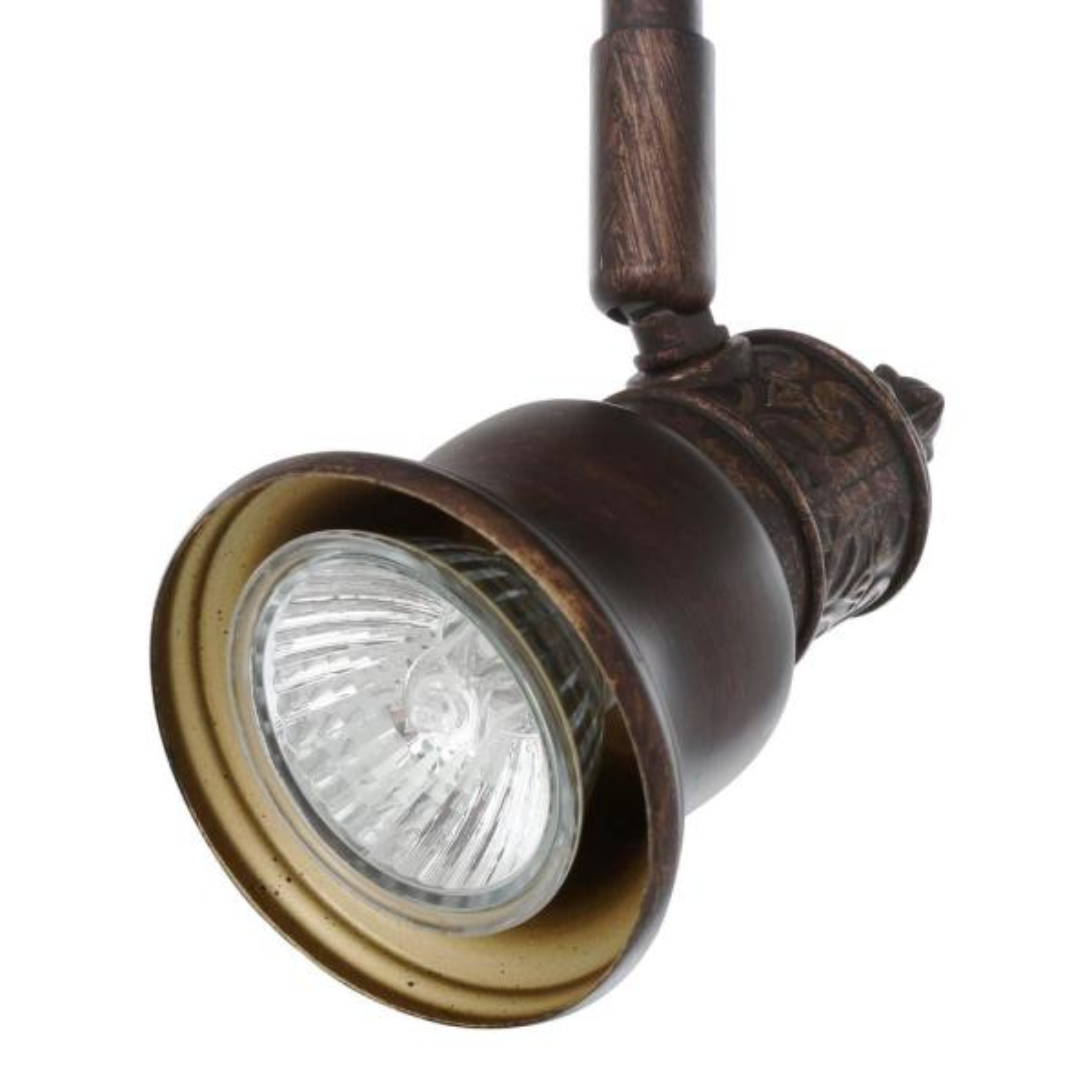 Kara 5-Light Track Lighting Bronze