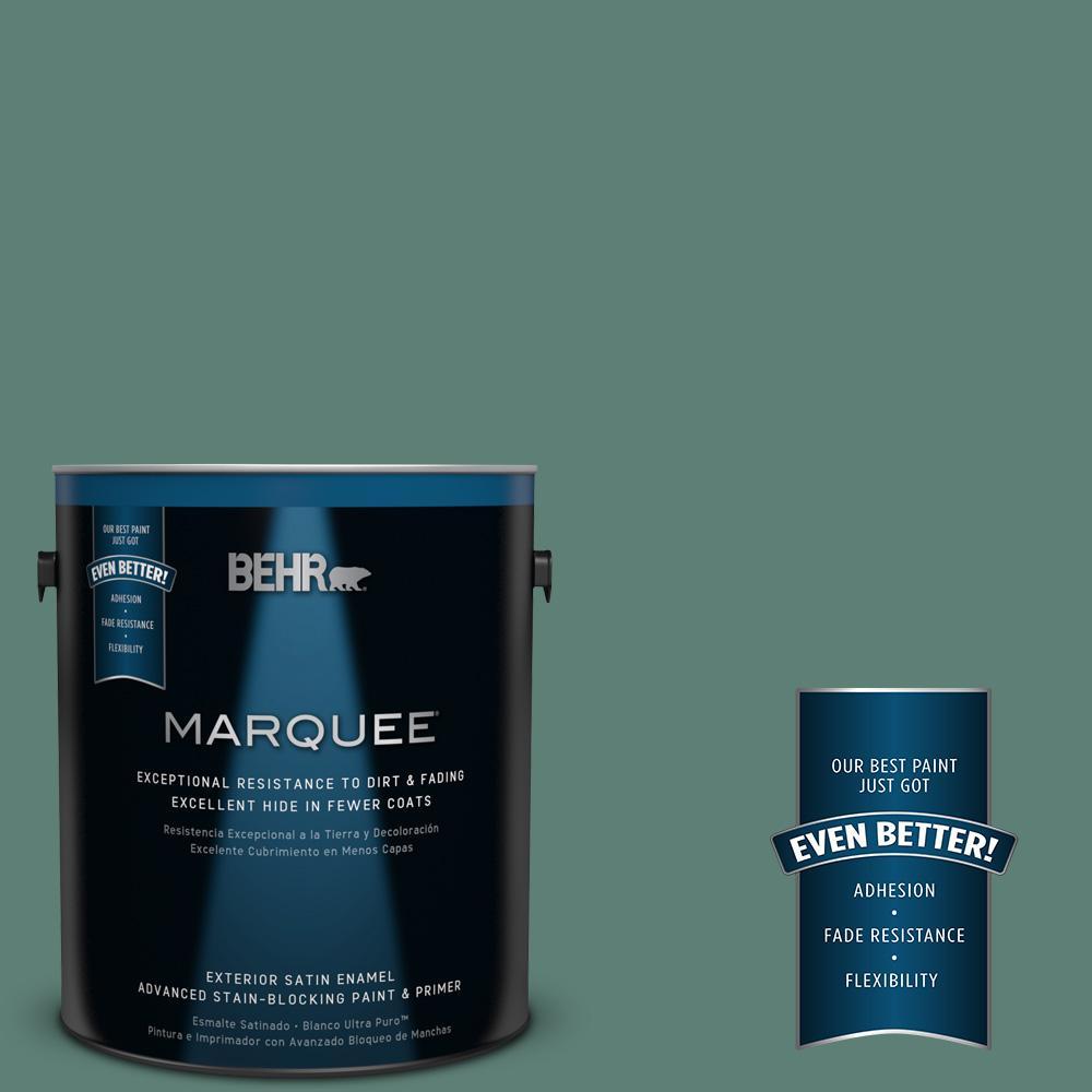 BEHR MARQUEE 1-gal. #M440-6 Trellis Vine Satin Enamel Exterior Paint