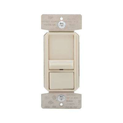 AL Series 3-Way Single-Pole Sliding Dimmer Switch with Rapid Start Feature, Light Almond