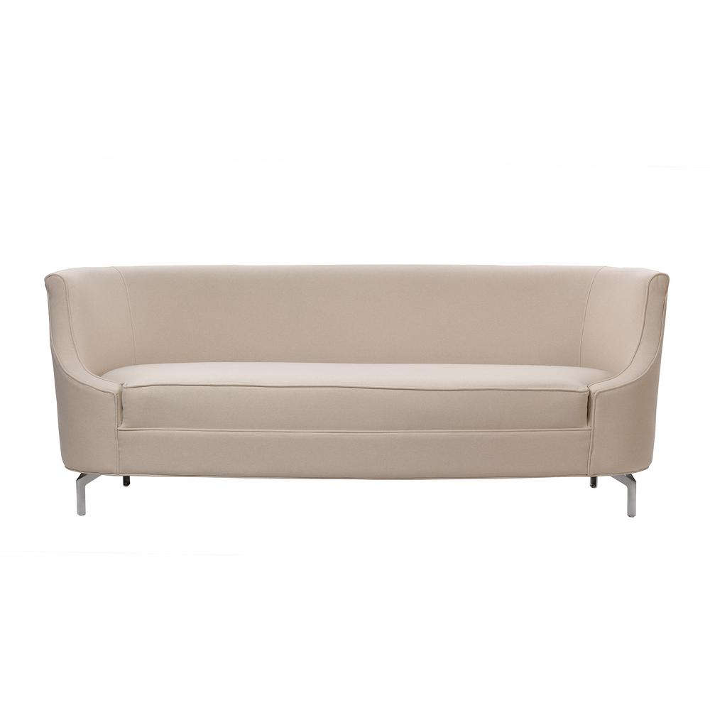 Sandy Wilson Harper Sky Neutral Upholstered Sofa